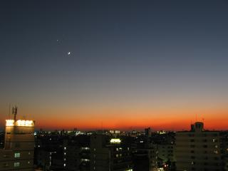 夕景 1-Dec.-2008