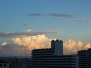 うまそうな積乱雲その2